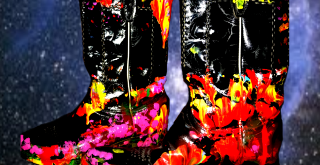 Meet the 6 Million Dollar Cosmic Cowboy Boots – Another World First By Artist Jack Armstrong